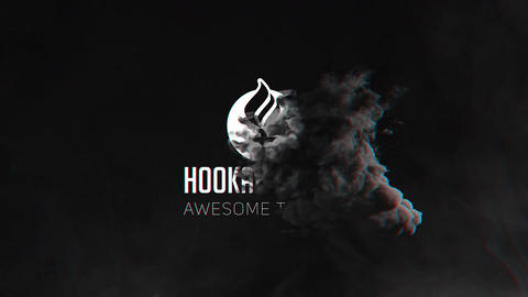 Smoke Logo Pack After Effects Template