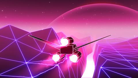 VJ 80's Spacecraft 애니메이션