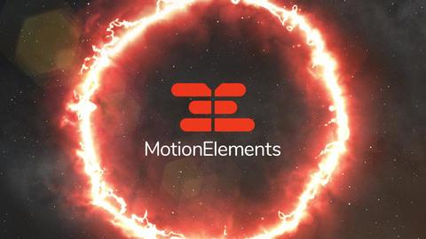 Logo revival-space&fire circle Plantilla de After Effects