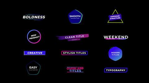 Creative Titles Plantillas de Premiere Pro