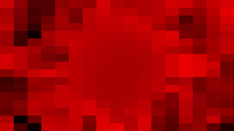 Colorful pixelated square mosaic pattern Footage