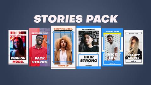 Stories Pack Premiere Proテンプレート