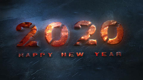 New Year 2020 Countdown Animation Animation