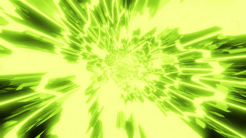 abstract anime style 3d illustration motion background live wallpaper vj loop Animation