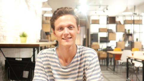 Portrait Of Designer Footage