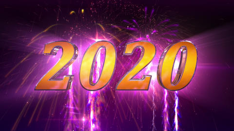 New Year 2020 Animation in 4K Animation