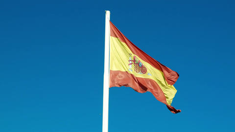 Spanish flag video Live Action