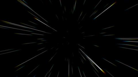 4K Abstract creative cosmic background. Hyper jump into another galaxy. fast Animation
