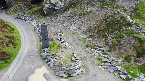 Old Slate Quarry and Grotto with statue of the Virgin Mary, Valentia Island Live Action