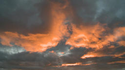 Storm Clouds At Sunset 0