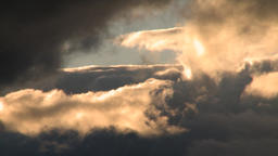 Storm Clouds At Sunset 1