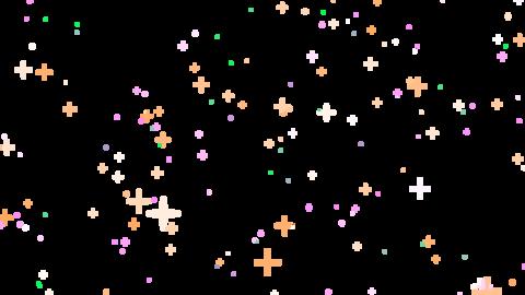 Mov181 Particle Star Flash Loop Alpha 2