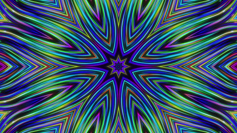 Swirls Kaleida03 Animation