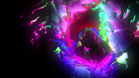 Glowing Ink CG動画