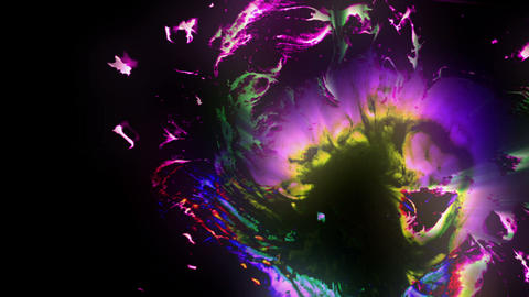 Glowing Ink Animation