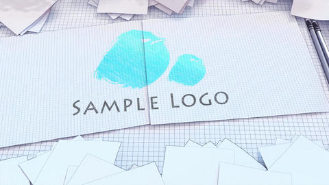 Cartoon Logo Painter After Effects Template