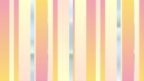 シンプル可愛いラインアニメーション-画面転換/トランジション CG動画