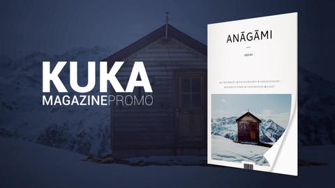 KUKA Magazine Promo Plantilla de After Effects