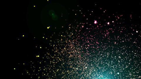Sphere-light-dust CG動画