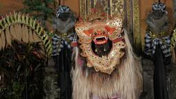 Traditional balinese barong dance,Ubud,Bali,Indonesia Footage