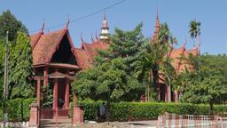 National museum,Phnom Penh,Cambodia Footage