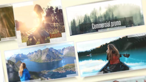 Summer Holiday Slideshow After Effects Template