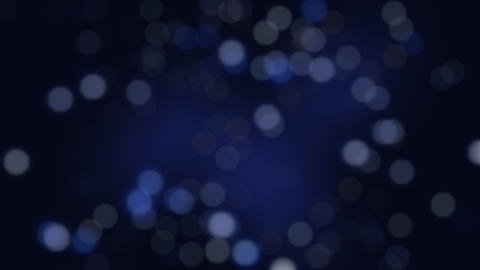 Blue colored futuristic bokeh, light leaks in cold hue for using in overlay or Animation