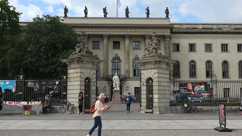Humboldt University Of Berlin Live Action