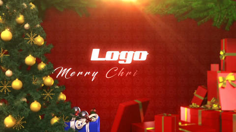 Logo christmas Plantilla de After Effects