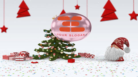 Christmas Santa Opener 1 After Effects Template