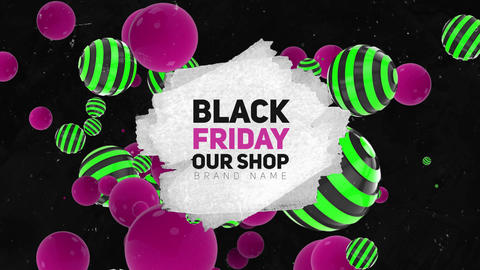 Black Friday After Effects Template
