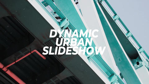 Dynamic Urban Slideshow After Effects Template