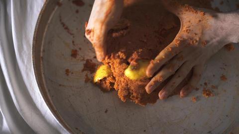 Preparing Steak Tartar A La Turca - Turkish Appetizer Footage