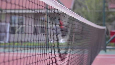Tennis net Footage