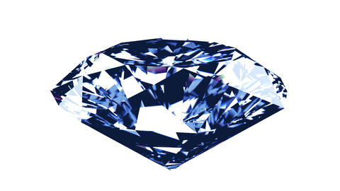 Spining diamond on a black/white background Animation