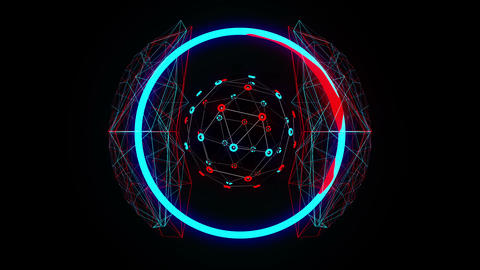 Neuro Vj 4K 02 Vj Loop Animation