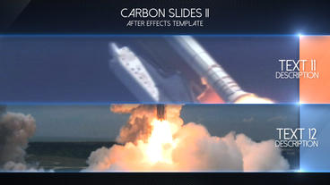 Carbon Slides II - After Effects Template After Effects Project