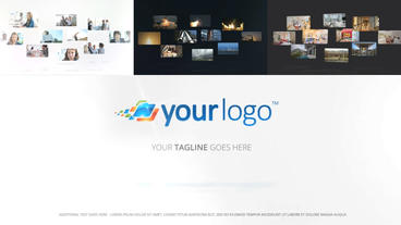 Multi Media Logo Reveal - Apple Motion and Final Cut Pro X Template Apple Motion Template
