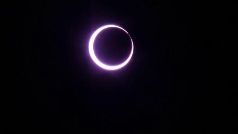金環日食/Annular solar eclipse ビデオ