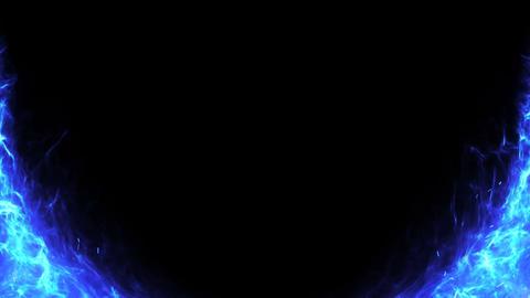Fire_Blue_01 Videos animados