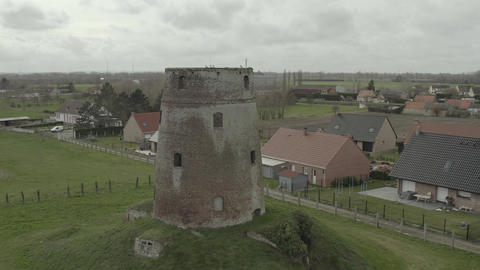 Meesemaecker windmill (Looberghe, France) d-log Live Action