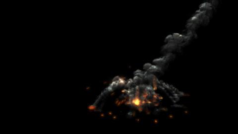 Meteor Impact 2 Animation
