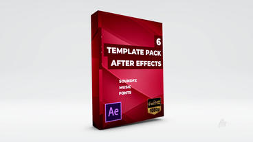 Action Thriller FX Promo Template Packs (Included 6 Templates) Plantilla de After Effects