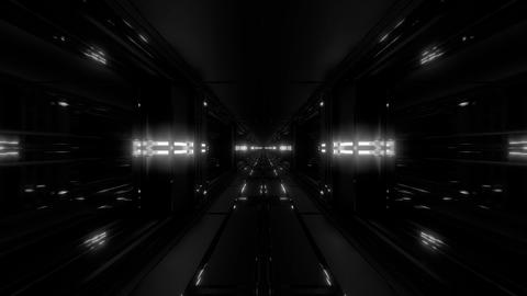 clean futuristic scifi fantasy space hangar tunnel corridor with nice Animation