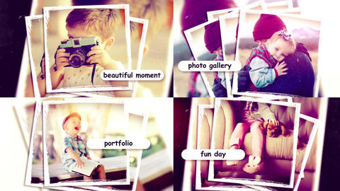 Family Fun Slideshow After Effects Template