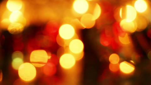 christmas lights bokeh loopable background Footage