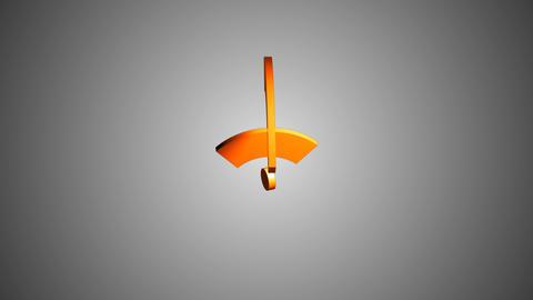 Isometric Wi-Fi network icon animation Animation