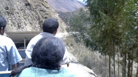 Truck used as a bus between Ollantaytambo and the more remote villages in the An Footage