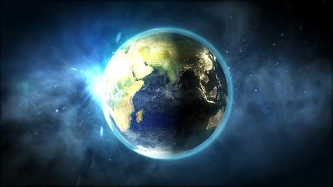 Planet Earth loop Animation