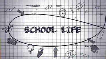 School Life After Effects Template